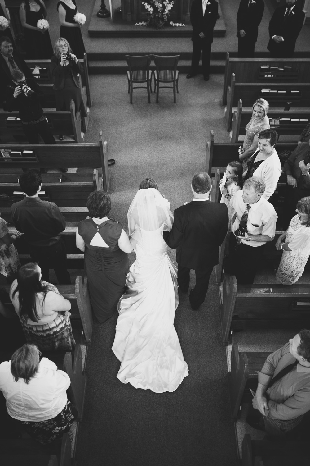 Bride-Walking-Down-Aisle-Aerial
