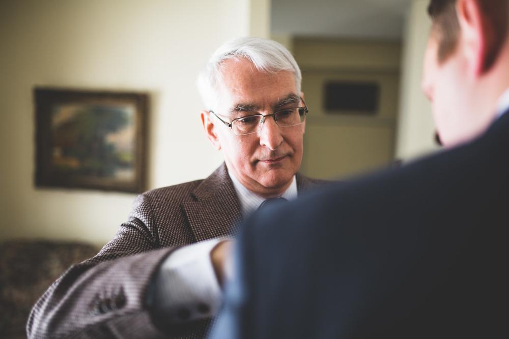 Father-helping-groom-ottawa