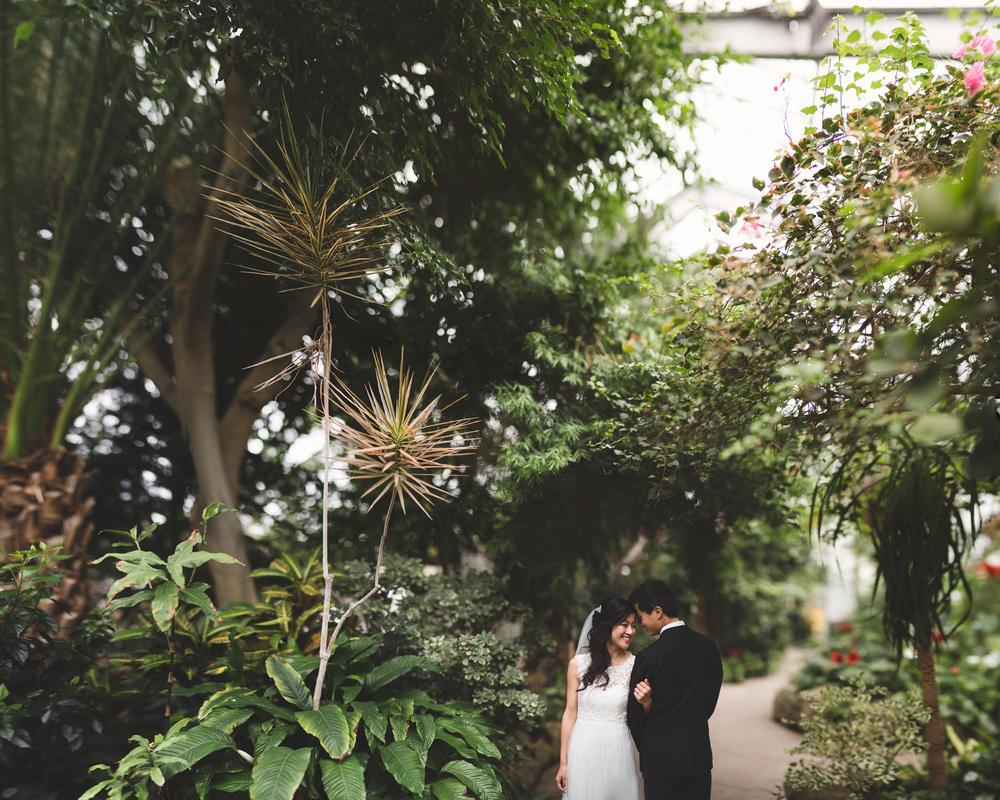 Toronto Greenhouse Intimate Wedding Jonathan Kuhn Photography