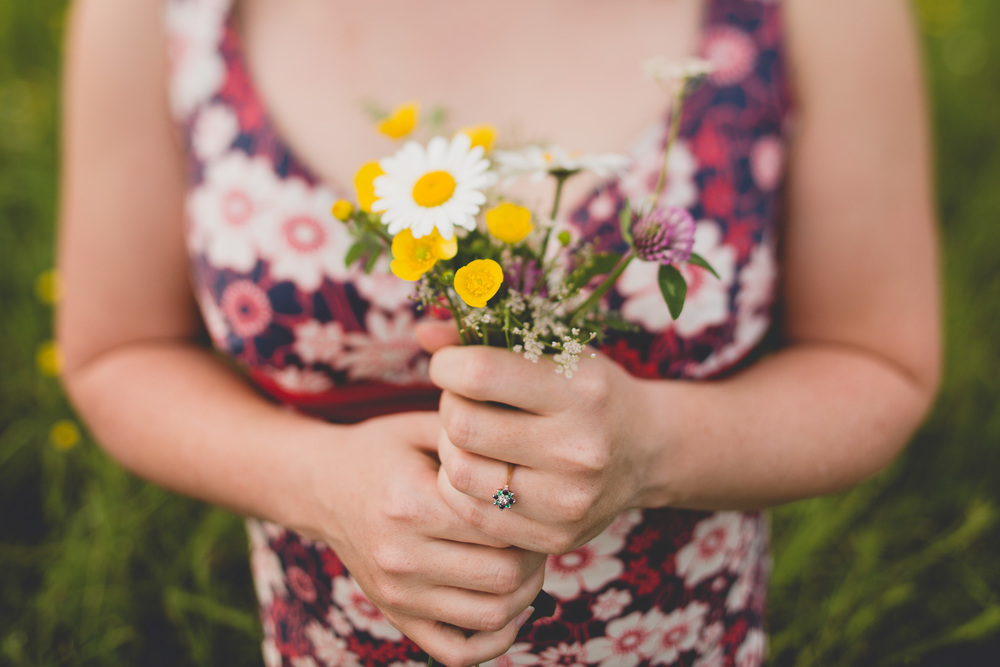 handpicked-bouquet-engagement