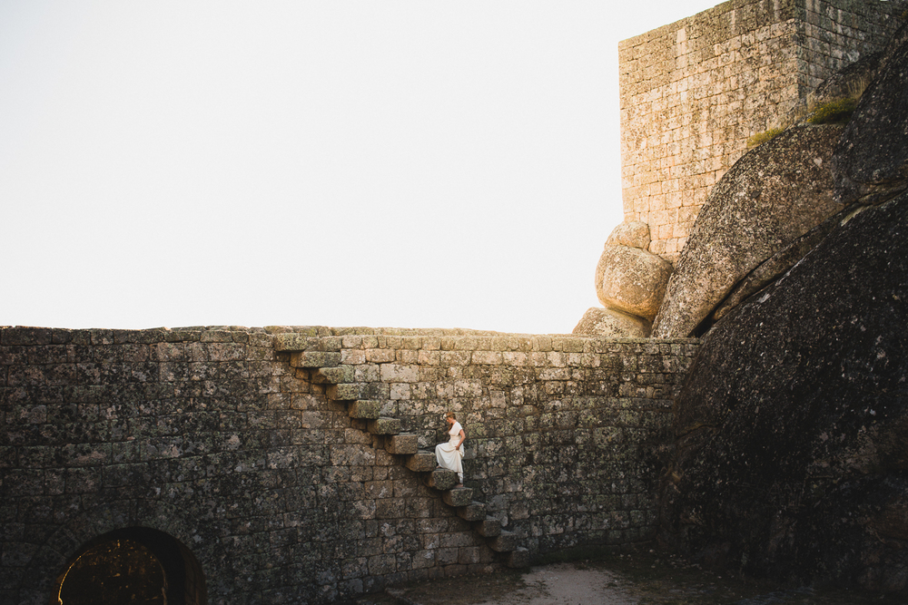 European Destination Wedding in old castle