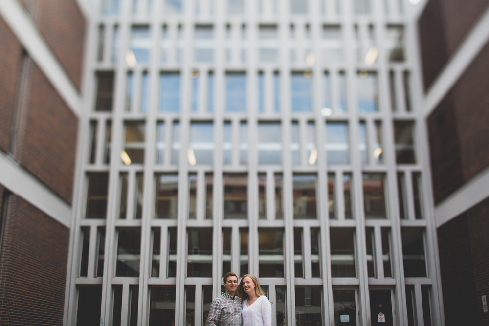 Carleton University Engagement Photos