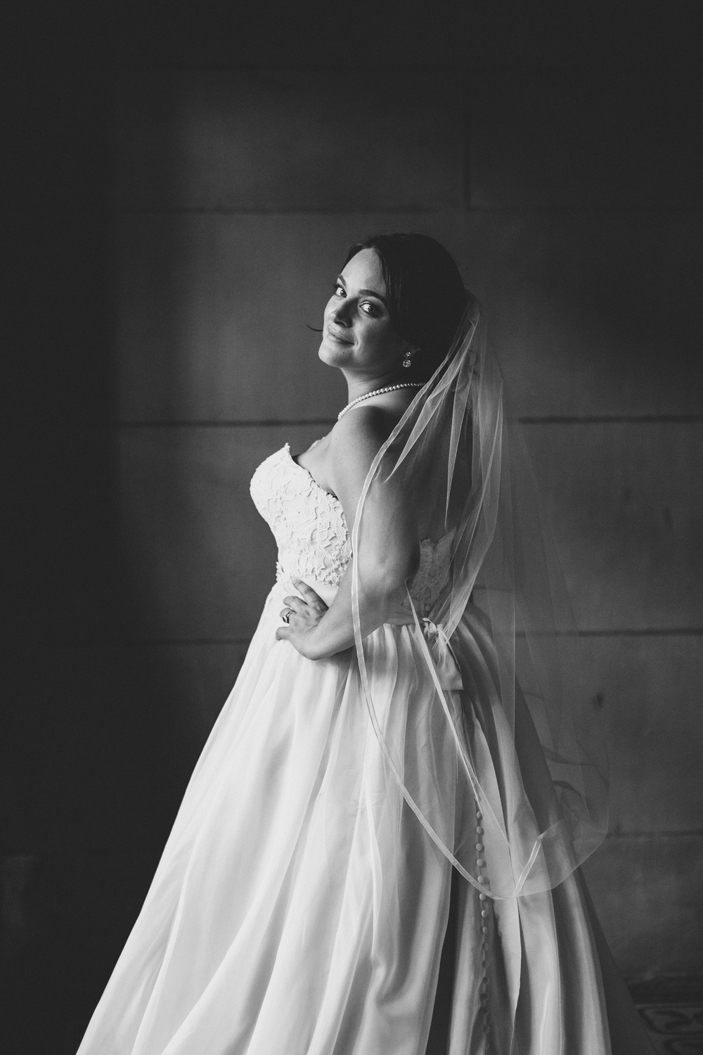 Romantic Black and White Portraits