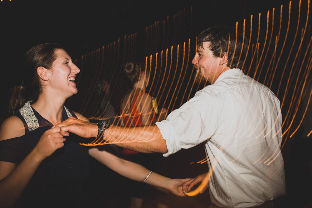 Light dragging, Wedding dance photos