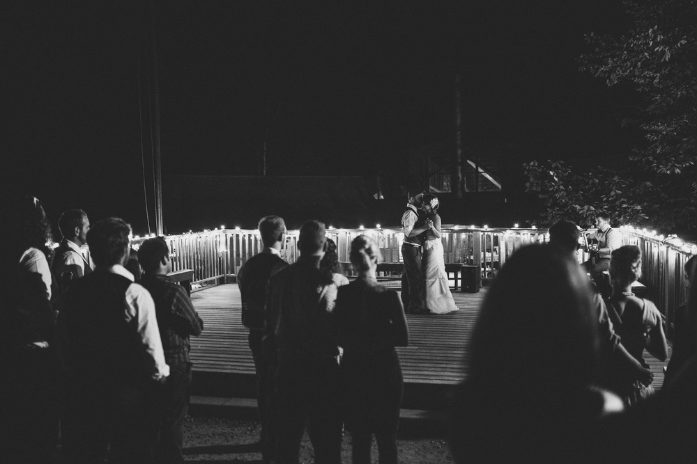 Why you should do your first dance outdoors