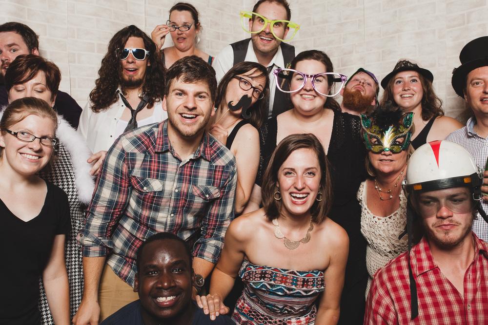 Large Group Photobooth Ottawa