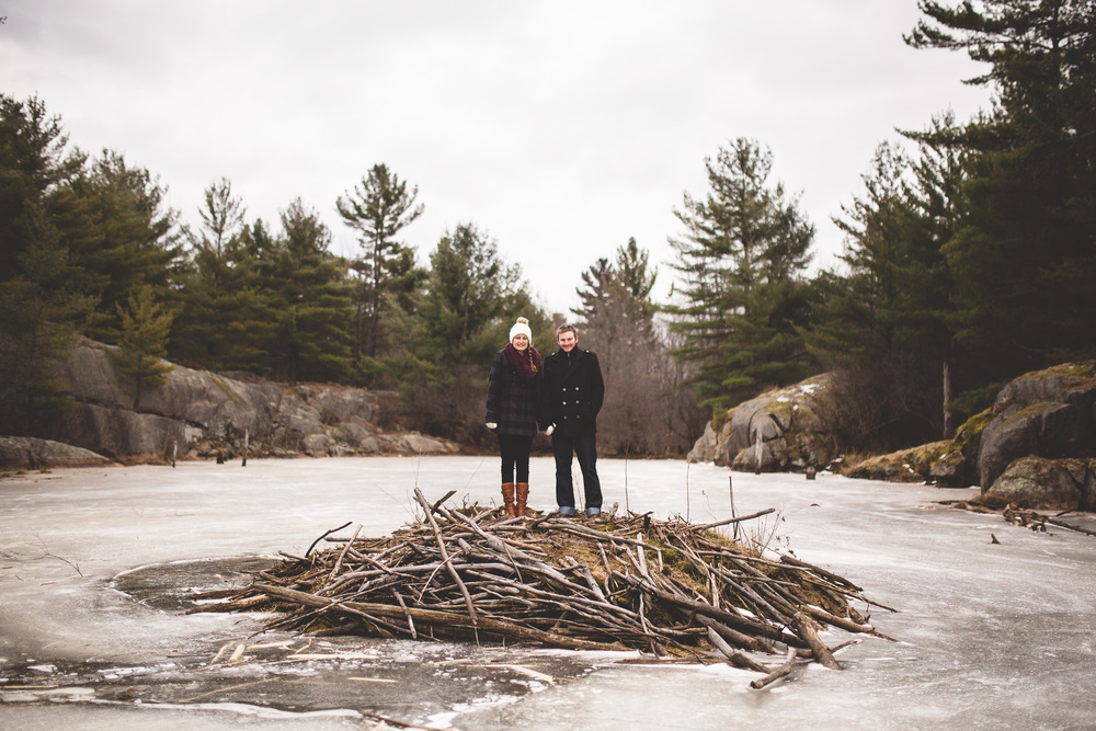 Ultimate Canadian engagement photographer