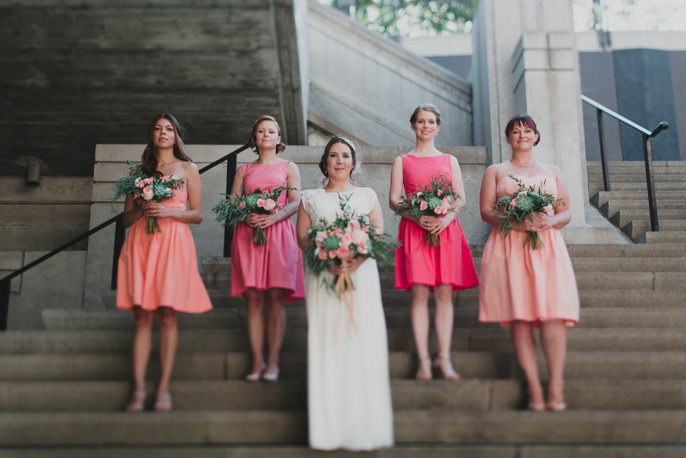 Bridal party portraits ottawa