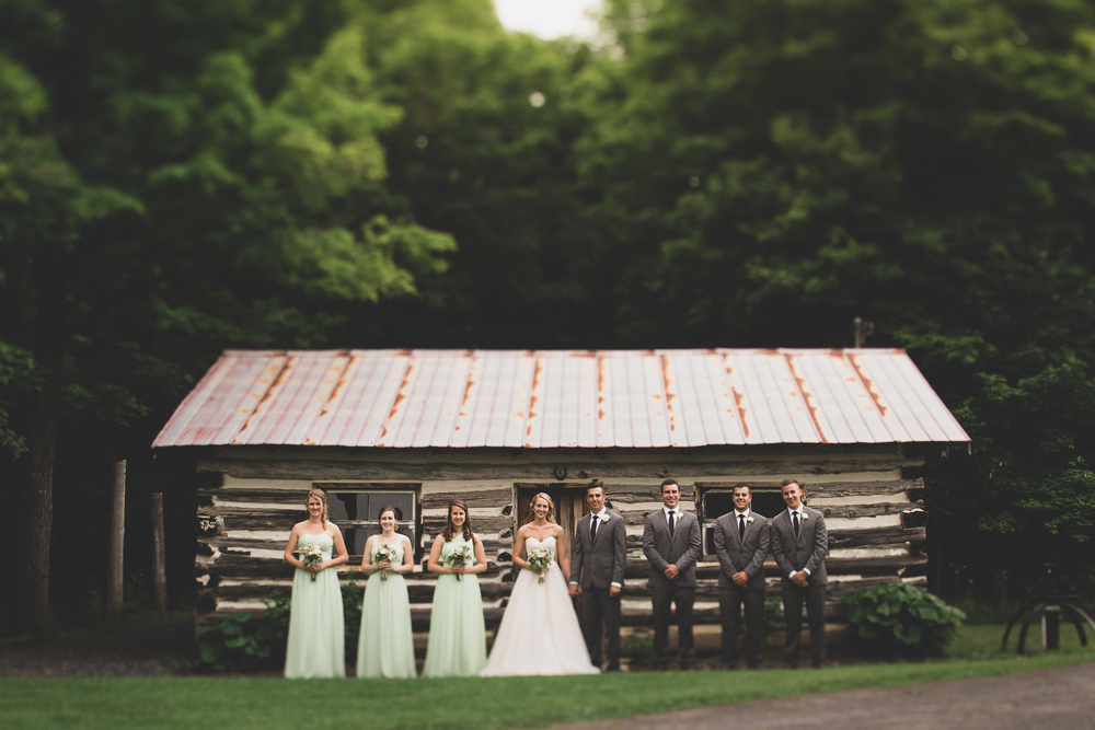 Maple sugar bush wedding