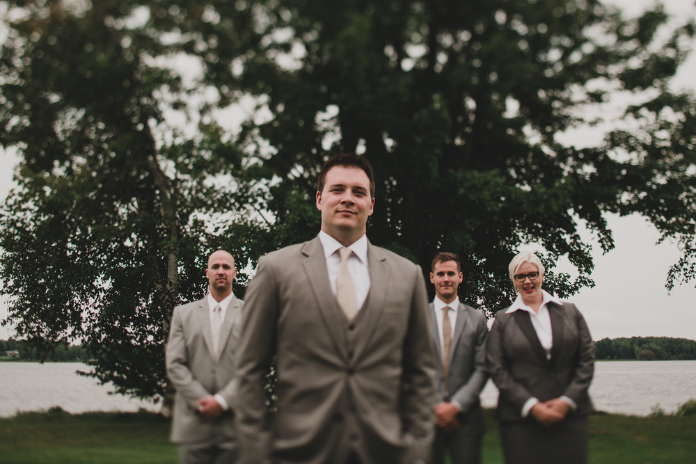 Tilt Shift Bridal Party Portraits