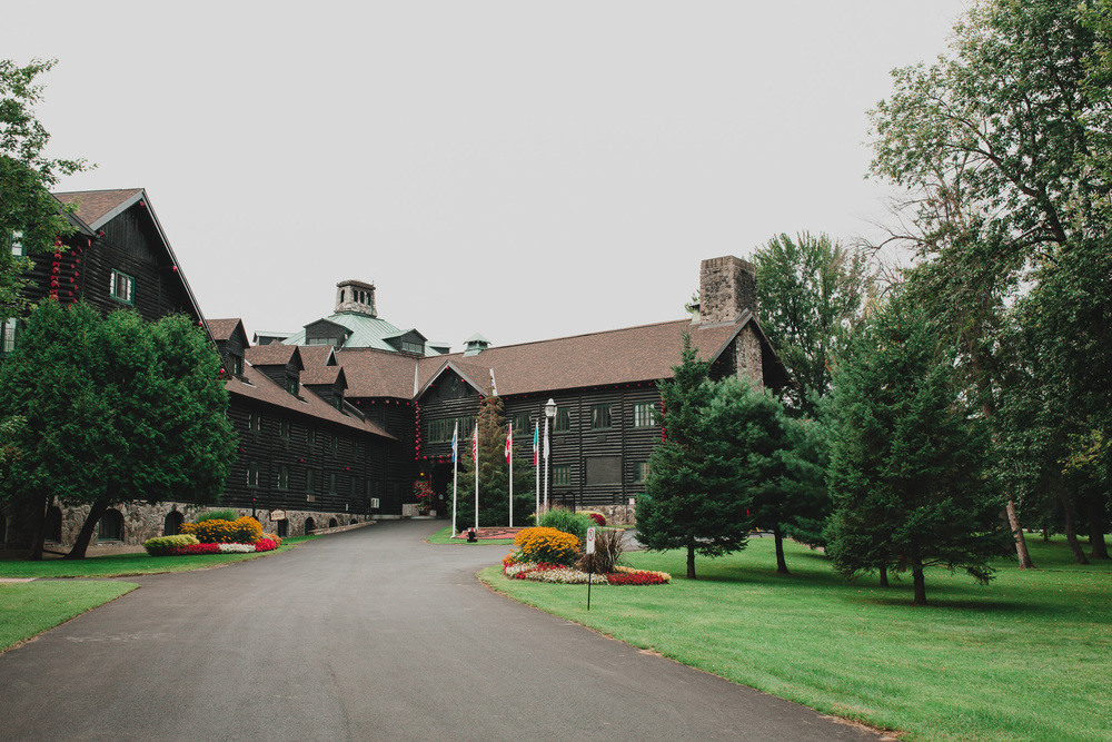 Fairmont Chateau Montebello, Unique Wedding Venues