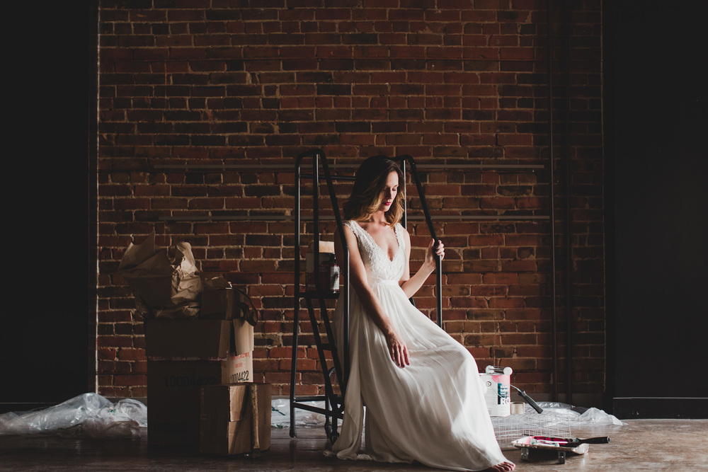 Alternative creative wedding photographer
