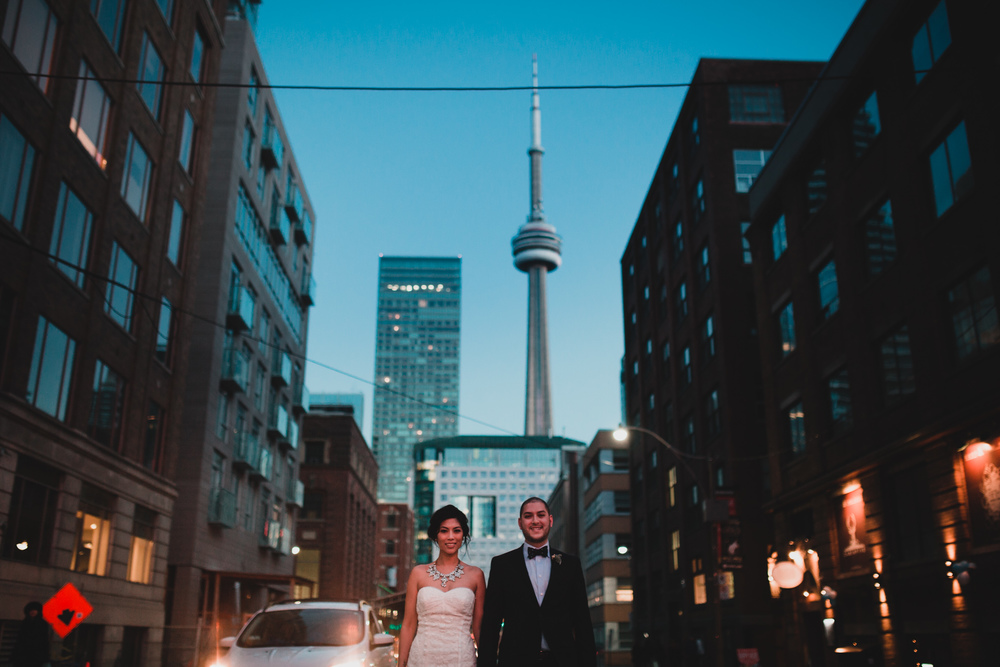 The Fifth, Toronto, Wedding Portraits