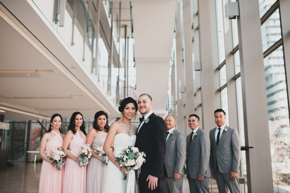 Royal Conservatory Toronto Wedding Photos