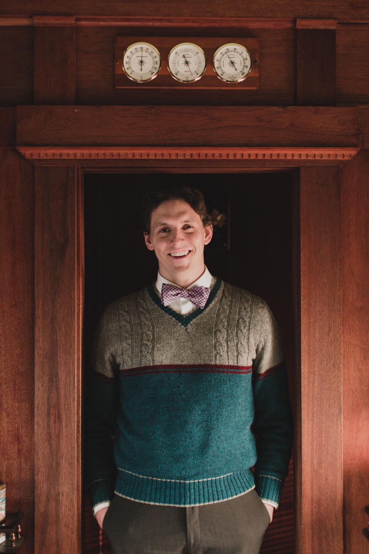 portrait inside doorway