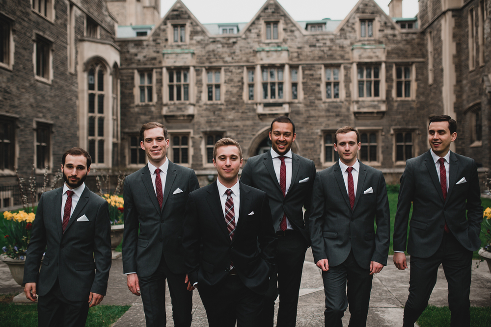 Hart House Wedding Portraits