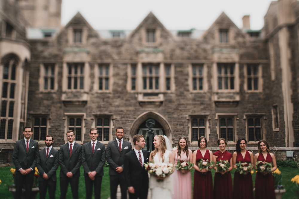 University of Toronto, Wedding Photography