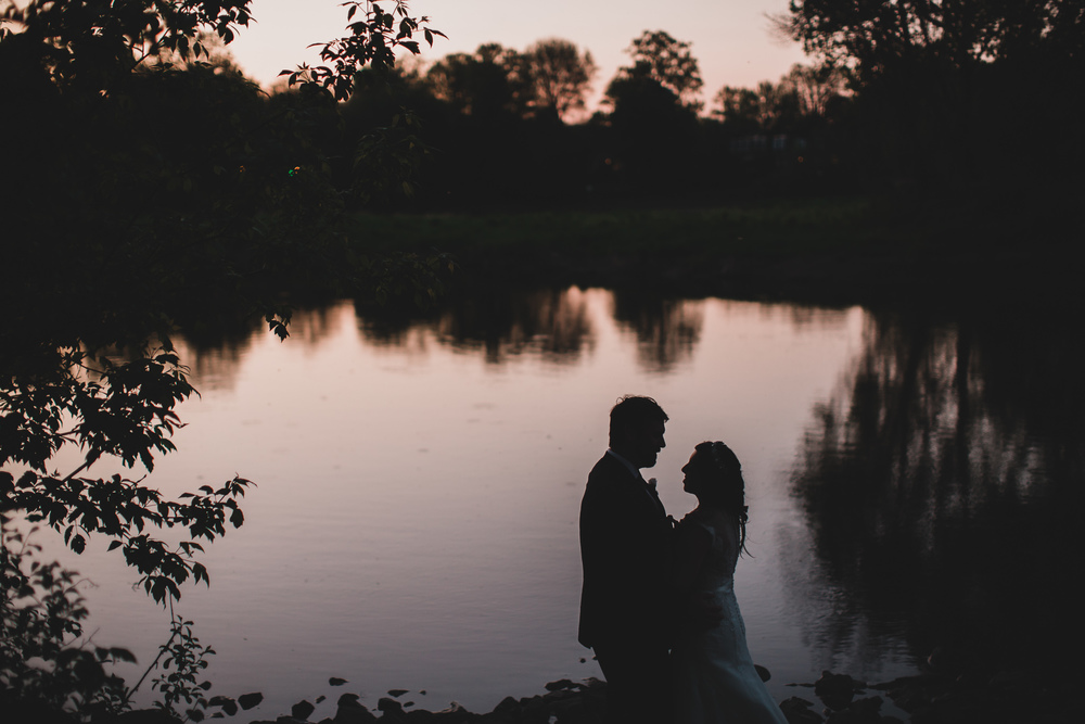 Romantic fine art wedding photos, Ottawa