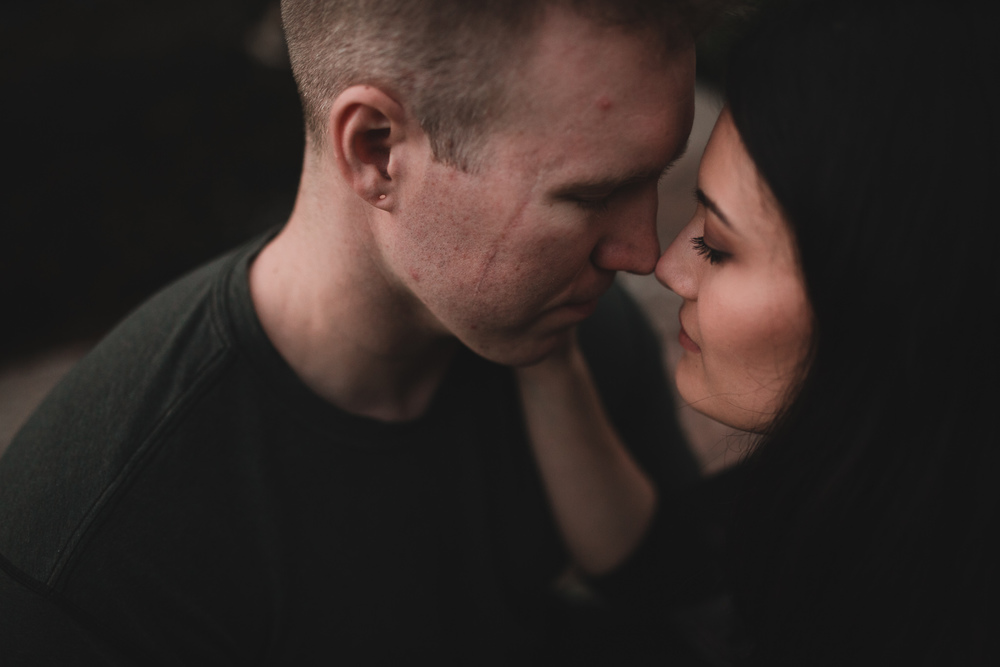Romantic alternative wedding photographer