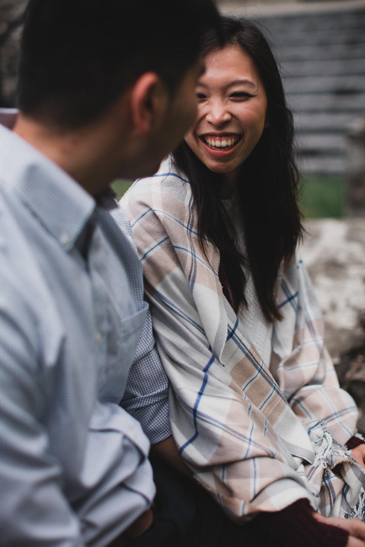 Natural, candid wedding photography