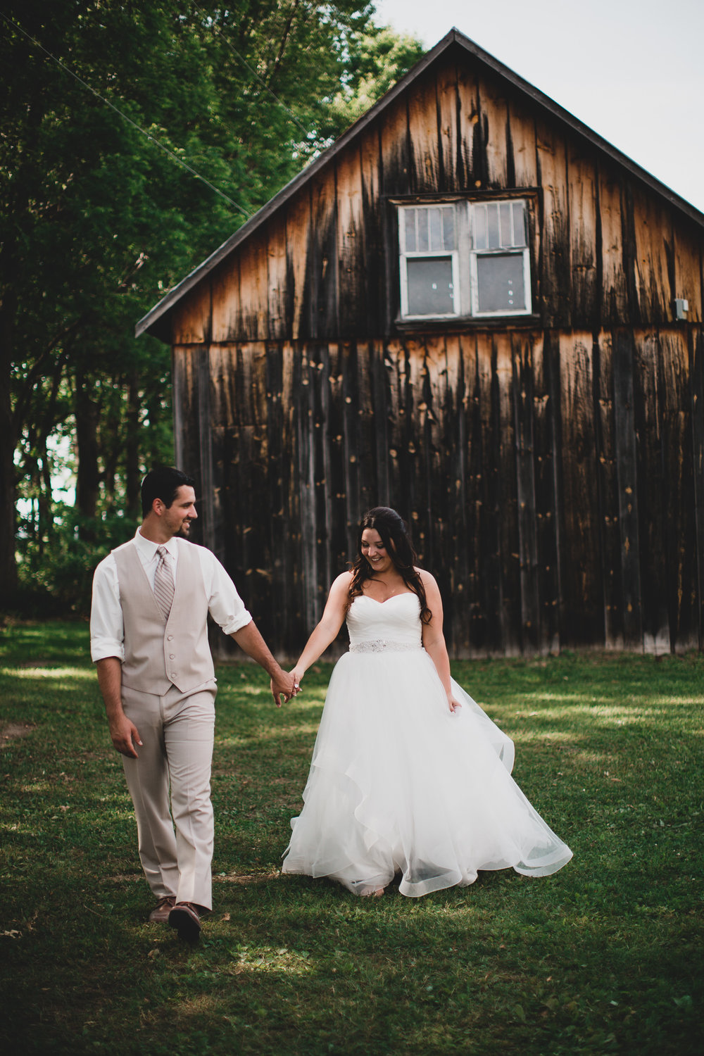 Casual rustic Ottawa wedding venue