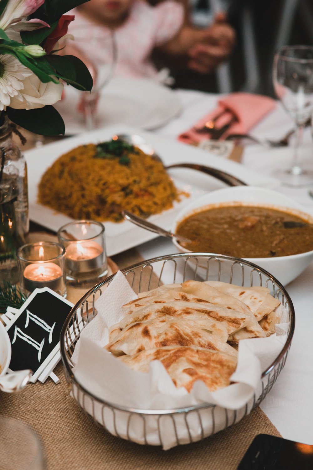 Sri Lankan catered wedding Montreal