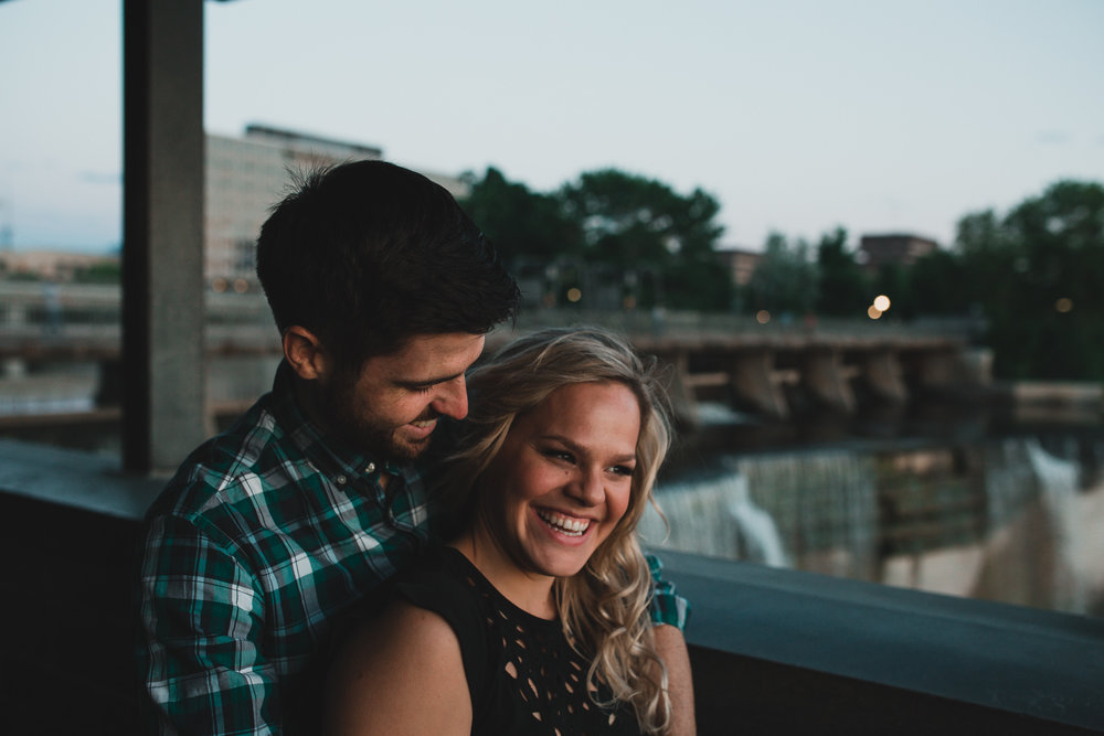 Natural, candid wedding and engagement photos