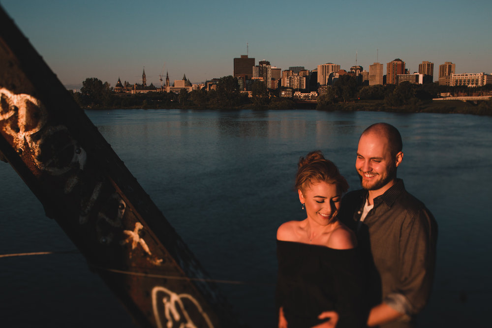 Downtown Ottawa Engagement and Portraits