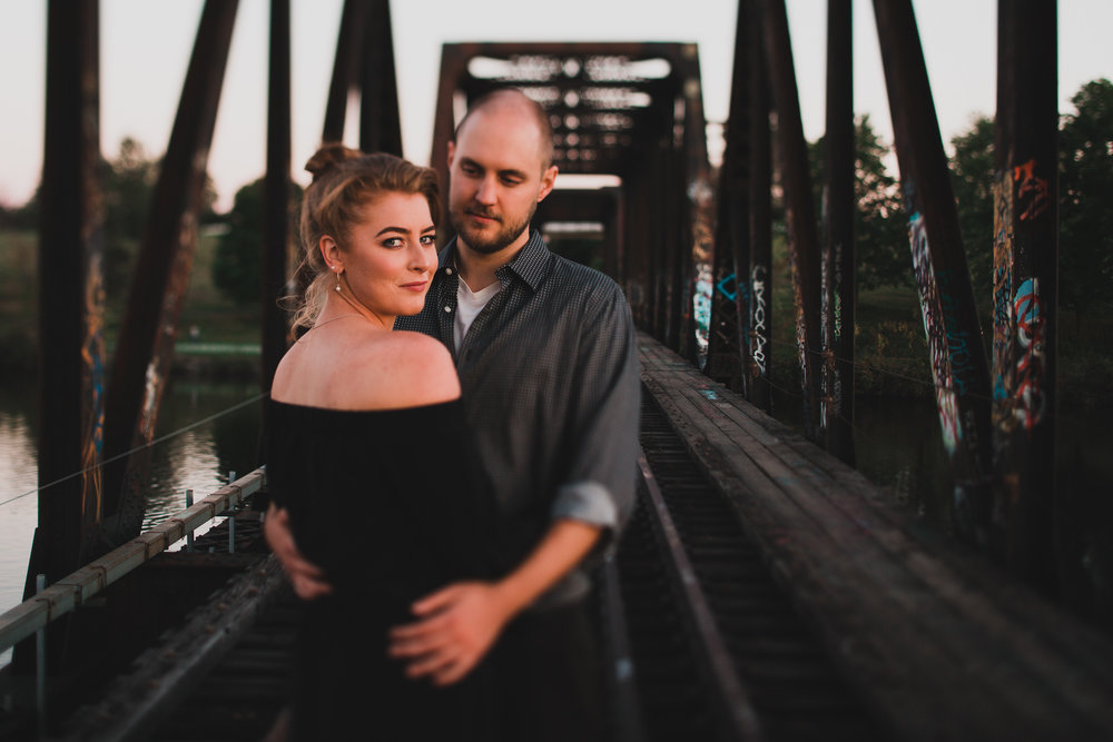 Prince of Wales Bridge Engagement Session