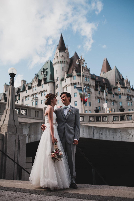 Ottawa Downtown Wedding, Chateau Laurier