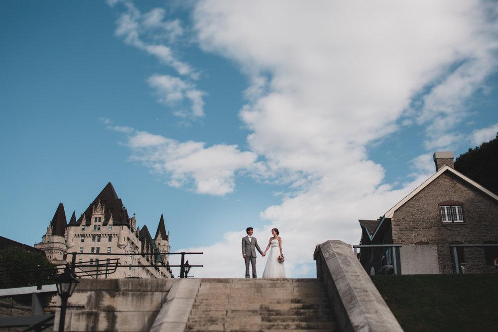 Downtown Ottawa Wedding Portraits, Tourist