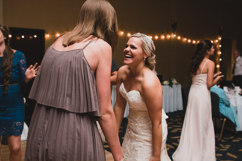 Natural, candid wedding coverage