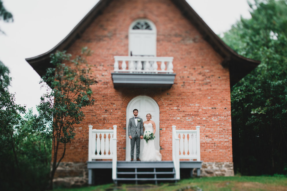 Chateau Montebello Outdoor Wedding, Granary
