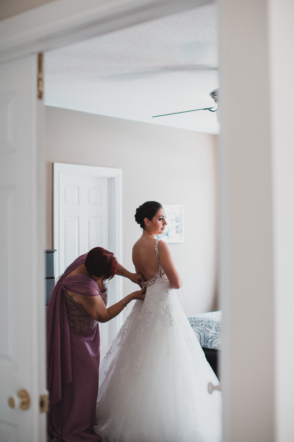 Intimate wedding moments captured
