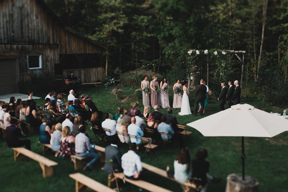 Adelina Quebec Wedding Venue, Ceremony