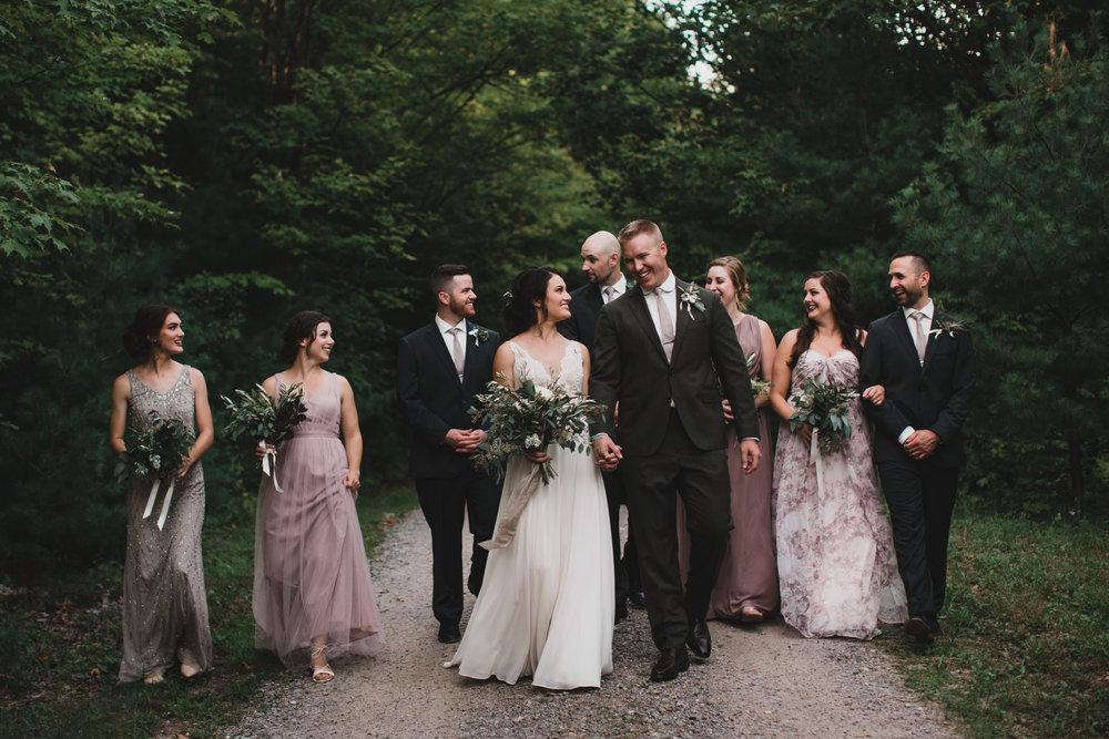Natural, easy going wedding photos Ottawa Kington Perth