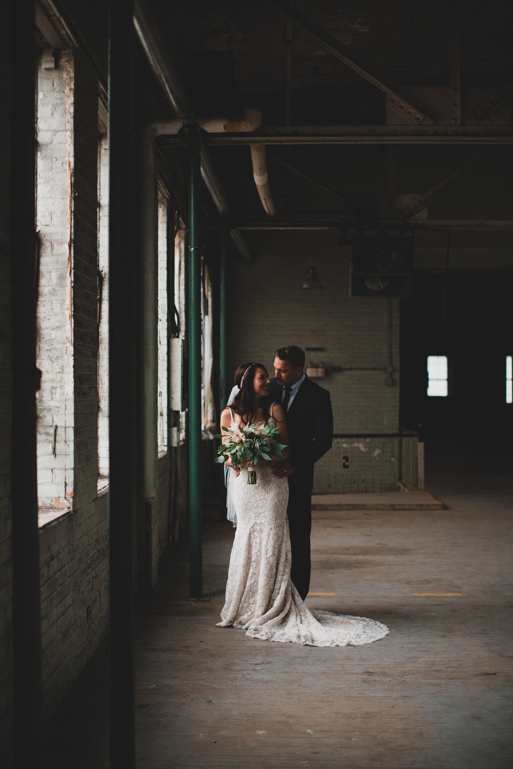 Zibi Industrial Style Wedding Venue