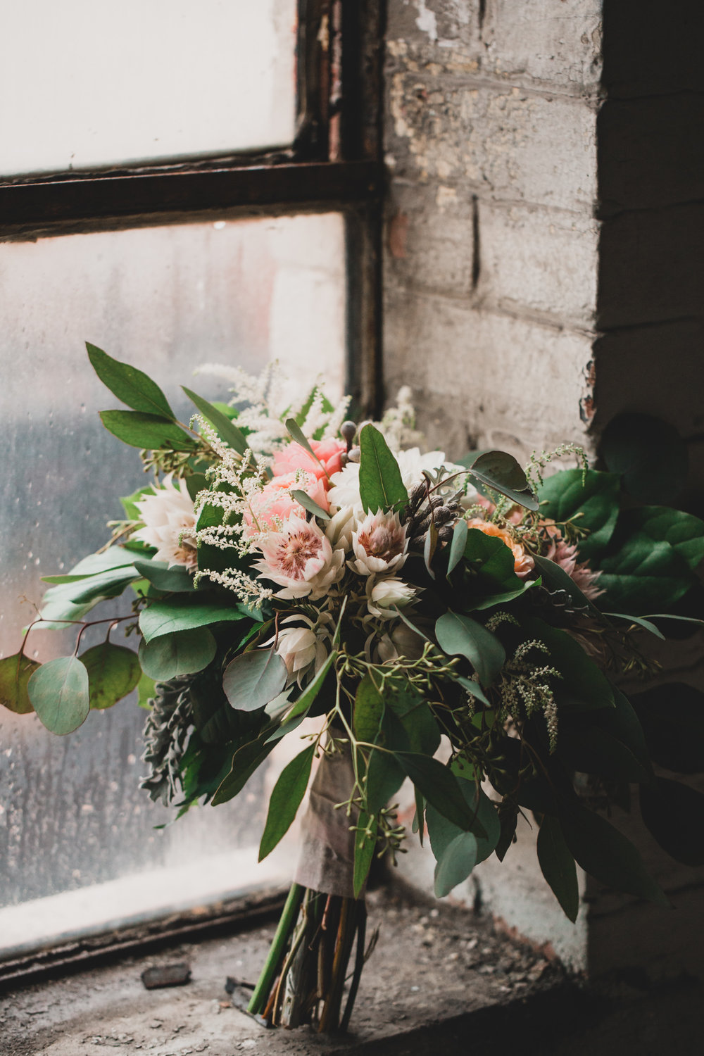 Flore et Sens Wedding Bouquet