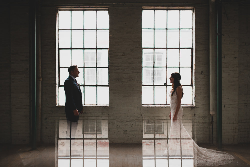 Alternative wedding portriat zibi ottawa