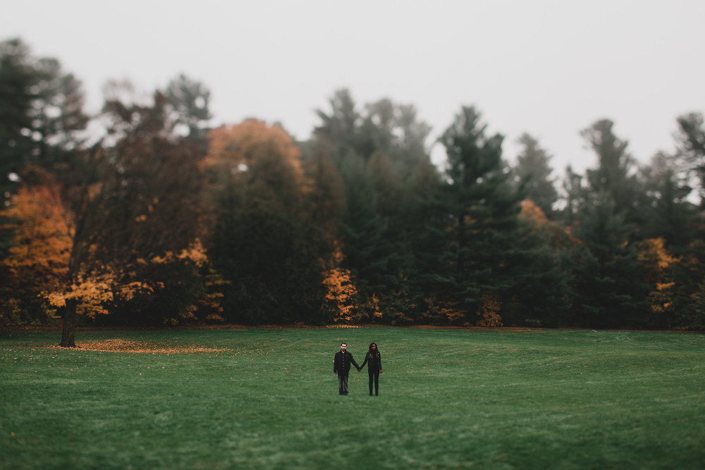Misty fall engagement rockliffe park ottawa