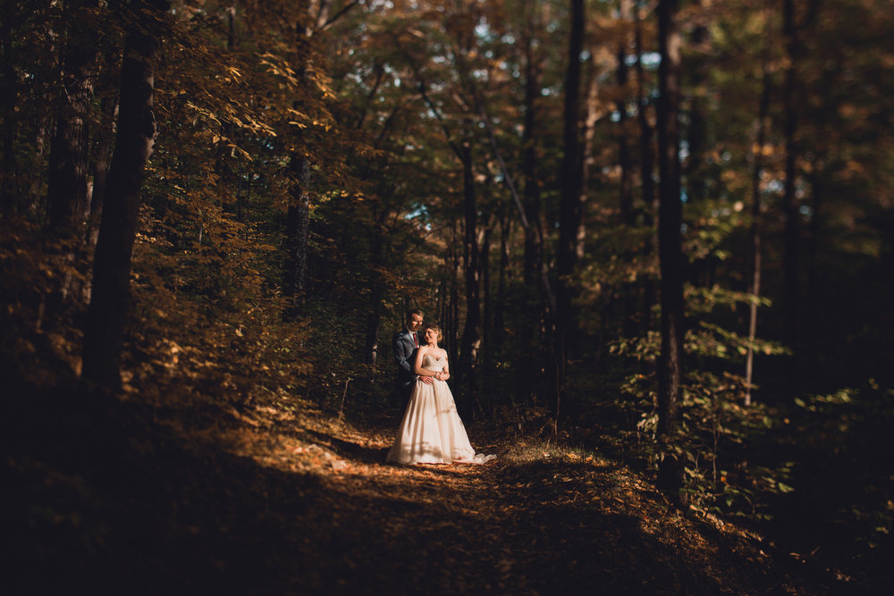 Moody Fall Wedding in Ottawa Gatineau