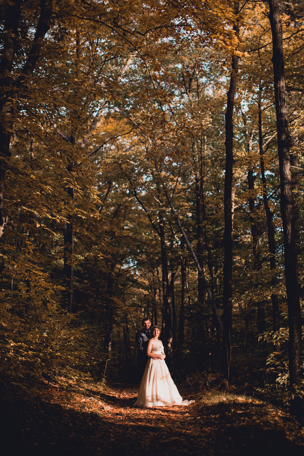 Gatineau Park Wedding Photos in the Fall