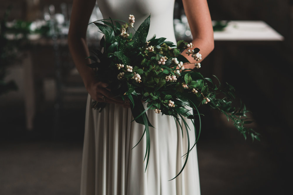 White, Greenery, Minimal Weddings Ottawa