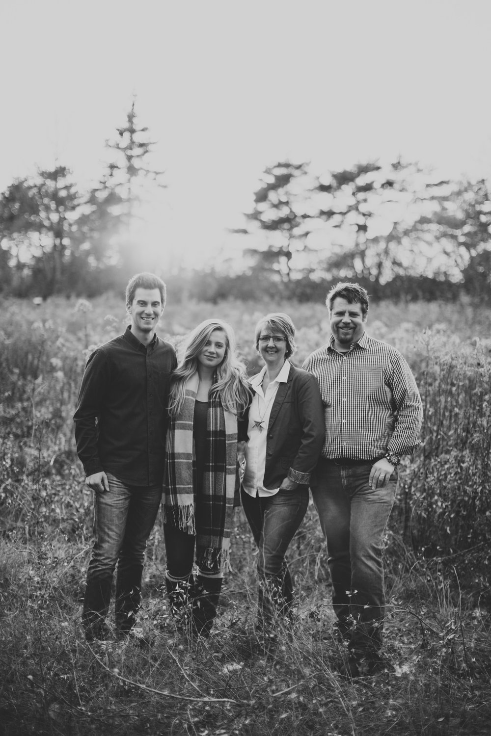Classic, natural family session in Ottawa