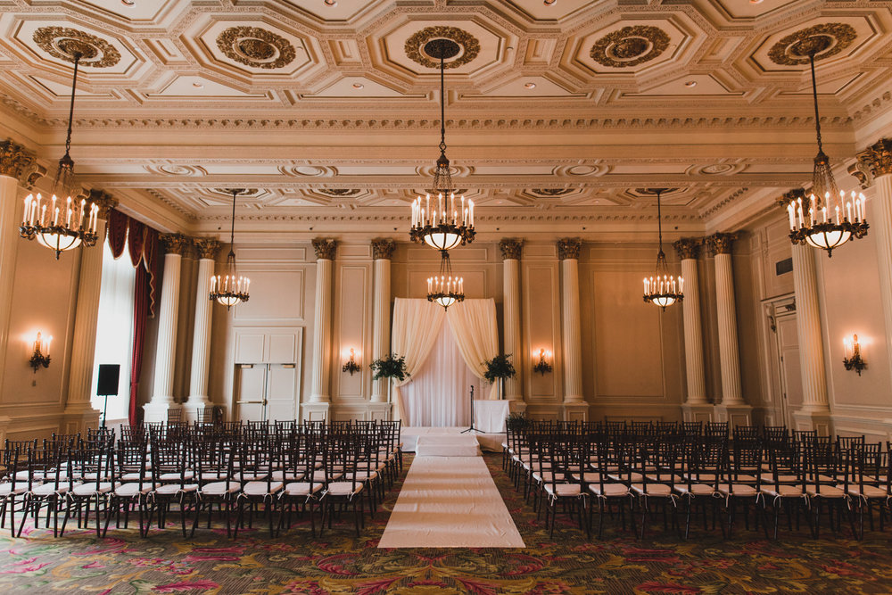 Chateau Laurier Ceremony Venue
