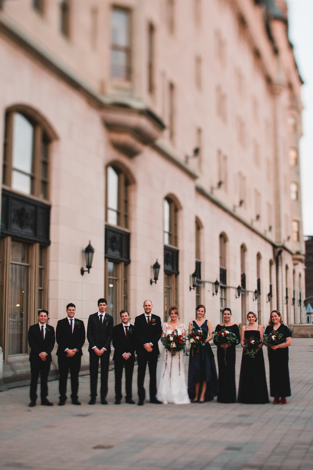 Modern, romantic Ottawa wedding