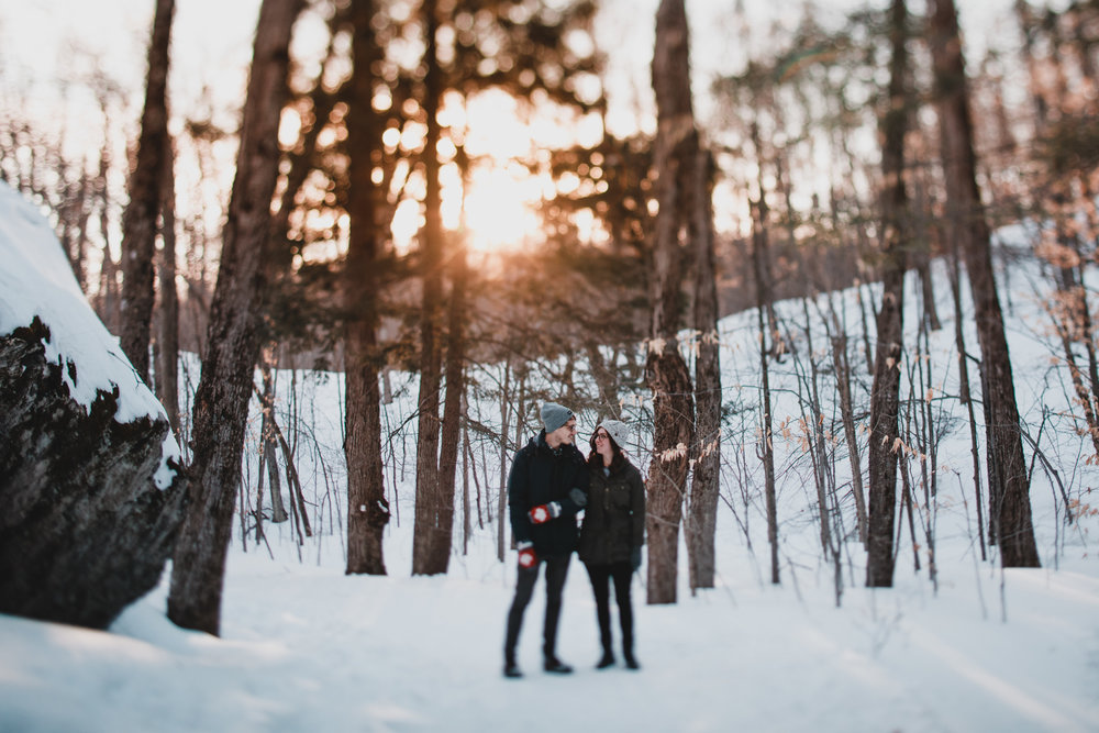 Mackenzie King Estate Engagement Session