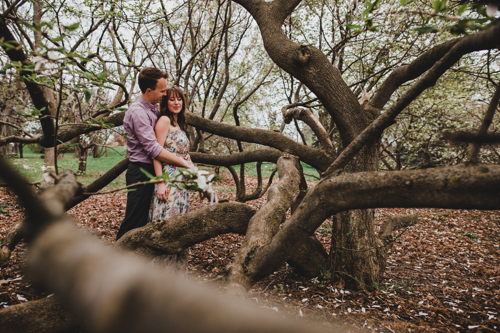 Spring Blossoms Engagement Session
