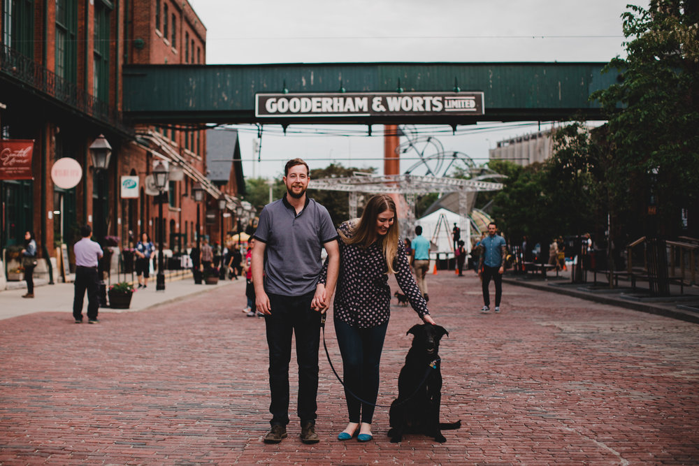 Distillery District, neighbourhood engagement session