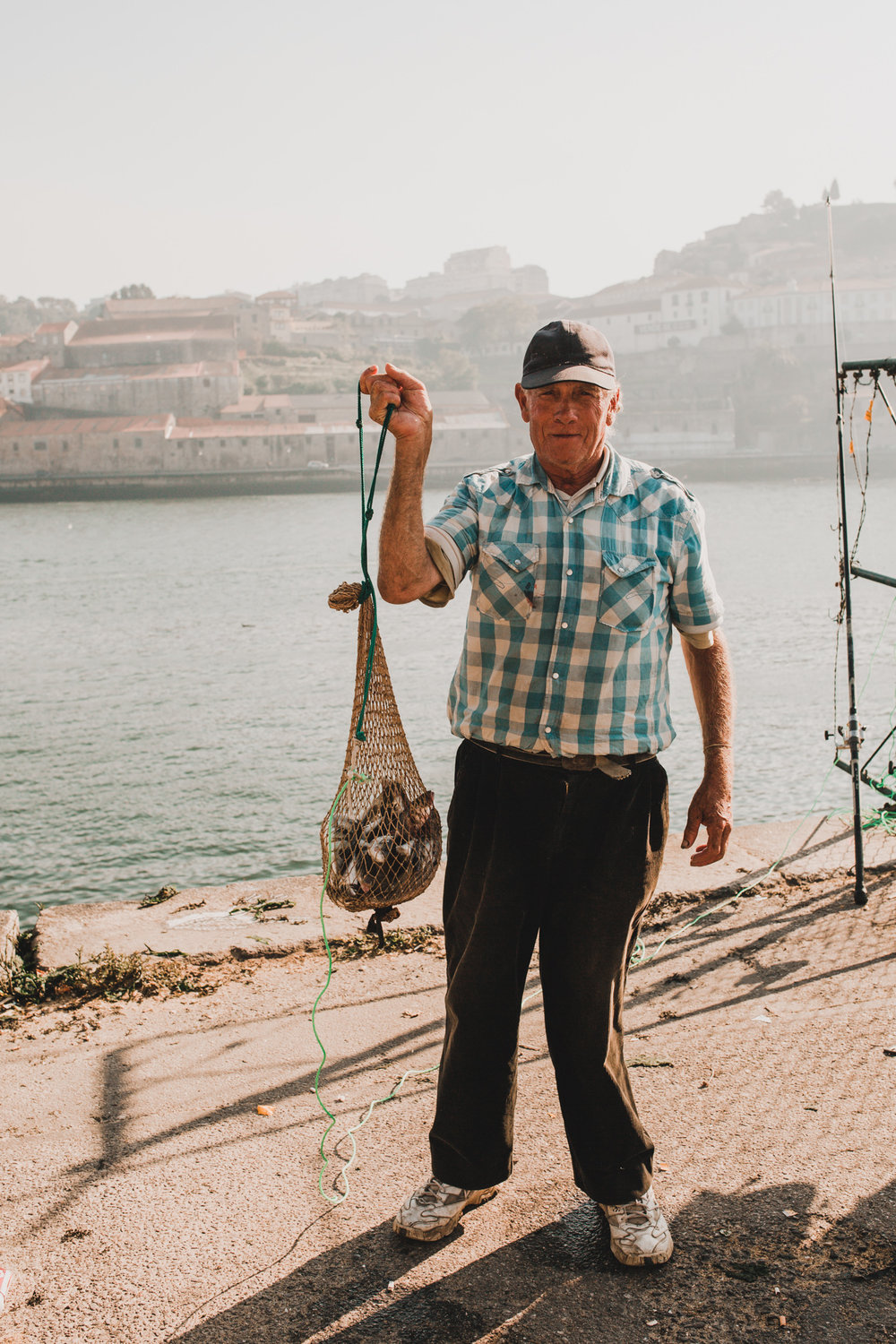 Fisherman in Portugal